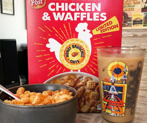 Chicken And Waffles Flavored Cereal
