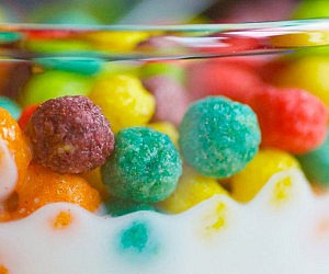 Modern Glass Cereal Bowl