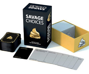 Savage Choices Party Game