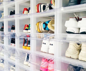 Stackable Shoe Box Drawers